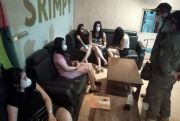 Razia di Tempat Karaoke, Petugas Gabungan Sapu Puluhan Merek Miras