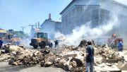Dilalap Api selama 3 Jam, Kertas Seharga Rp 200 Juta Jadi Butiran Debu