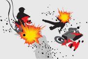 Tabrakan Maut Tiga Motor di Blora, Dua Orang Tewas, Satu Luka-luka