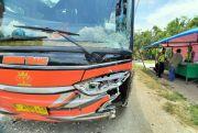 Terseret 200 Meter, Pengendara Motor di Grobogan Tewas Tertabrak Bus