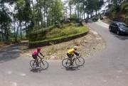 350 Cyclist Tertantang Tanjakan Jamus