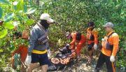 Jasad Marbot Terdampar di Hutan Bakau