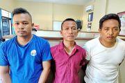 Empat Budak Sabu Lebaran di Tahanan