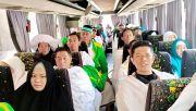 Jamaah KBIH Nurul Hikmah Kunjungi Jabal Rahmah