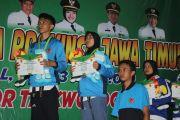 Atlet Taekwondo Madura Peraih Medali Emas Porprov VI Jatim (4-Habis)