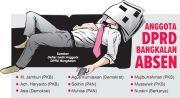 9 Anggota Dewan Bolos di Paripurna Perdana
