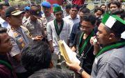 Di Depan Kapolres, Aktivis HMI Minta Polres Bangkalan Profesional