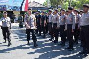 Ratusan Personel Amankan Pelantikan Presiden