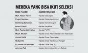 10 Pejabat Berpeluang Jadi Sekkab