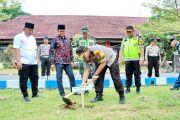 Peduli Lingkungan, Polres Tanam Pohon
