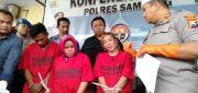 Edarkan Narkoba, Ibu Hajjah Berambut Pirang di Sampang Diciduk Polisi