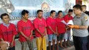 Dua Hari, Polres Sampang Sergap Lima Penyalahguna Narkoba Jenis SS