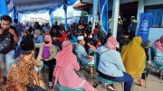 Rapid Test Ratusan Calon Penumpang Kepulauan