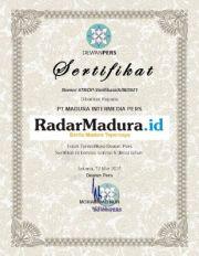 RadarMadura.id Terverifikasi Faktual Dewan Pers