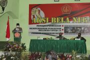 Bupati dan Waaster Panglima TNI Hadiri Pembukaan Aksi Bela Negara