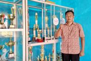 Ketua Persatuan Bola Voli Seluruh Indonesia Sumenep Sudiharto