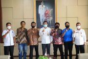 Jelang Pelantikan, Formatur Pengcab JMSI Prabumulih Temui Wali Kota