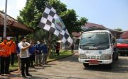 Bupati Ra Latif Berangkatkan Armada Bantuan Air Bersih