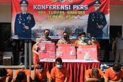 Polisi Ciduk 21 Tersangka Saat Operasi Tumpas Narkoba Semeru