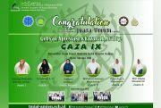 TMI Al-Amien Putri Juara Umum GAZA IX