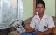 Ngontel Antar Laundry saat Sekolah, Taufiq Penggemar Mapel Matematika