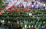 Siswa Gelar Salat Gaib untuk sang Teladan Bangsa, Doakan Mbah Maimoen