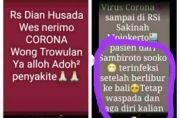 Corona di Mojokerto, Tiga Rumah Sakit Pastikan Hoax