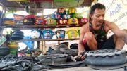 Bikin Pot dan Tong Sampah Karakter Kartun
