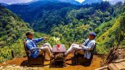 Indahnya Wisata Panorama Petung Sewu, Pacet