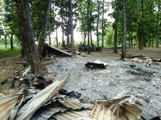 Warkop dan Bengkel di Hutan Kemlagi Jadi Arang