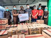 Peduli Korban Gempa, Alfamart Salurkan Bantuan Rp 100 Juta
