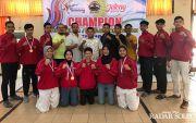 Taekwondo Sukses Jadi Juara Umum Popda Jateng