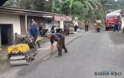 Perbaikan Jalan Jalur Wisata Dikebut