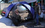 Teror Bakar Mobil Sasar Sopir Taksi Online, Korban hanya Menyewa