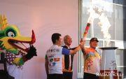 ASG 2019 Dimulai, Gubernur & Wali Kota Iringi Pawai Obor Api Abadi