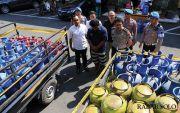 Praktik Oplos Gas Melon ke Tabung 12 Kg Dibongkar,Belajar dari Youtube