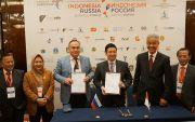 Ganjar Hadiri Festival Indonesia Moscow, Produk Jateng Laris Manis