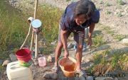 Ratusan Jiwa Kesulitan Air Bersih Dampak Kemarau dan Sumur Dalam Rusak