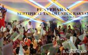 Jokowi Siap Copot Petugas BPN,Jika Target 80 Juta Sertifikat Tak Beres