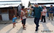 Ganjar Tengok Kampung Jateng di Palu