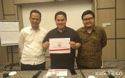 Erick Thohir Bantah Demi Kursi PSSI atau Menpora