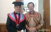 Wakil Walikota Solo Jawab Keinginan Wisudawan Yatim Piatu