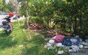 Malas ke TPS, Sampah Dibuang Sembarangan