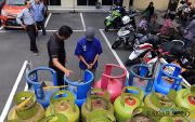 Oplos Gas Bersubsidi, Raup Belasan Juta