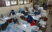 SMK di Klaten Produksi Hazmat, Dibagi Gratis ke Rumah Sakit