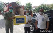 Aksi Mitigasi Dampak Pandemi Covid-19, AQUA Klaten Salurkan Sembako