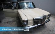 Restorasi Mercedes Benz W115, Ride Daily in VIP