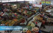 Pedagang Reaktif, 3 Kios Sembako di Pasar Gede Tutup Sementara