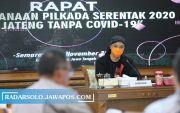Ganjar Gelar Rakor, Bahas Skenario Pilkada saat Pandemi & Siaga Merapi