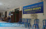 Tes Swab Keluar, Para Pengungsi Merapi di Desa Balerante Bebas Covid